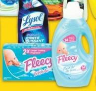 Fleecy Fabric Softener - 1.47 L or Sheets 80's