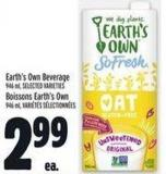 Earth's Own Beverage 946 ml