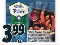 Piller's Smoked Sausages 375 g