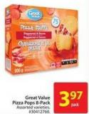 Great Value Pizza Pops 8-pack