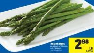 Asparagus Product of Mexico No. 1 Grade