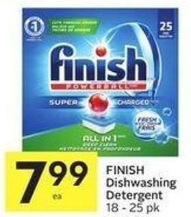 Finish Dishwashing Detergent