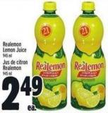 Realemon Lemon Juice 945 Ml