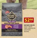 Nature's Recipe Adult Grain Free Lamb Recipe Dog Food