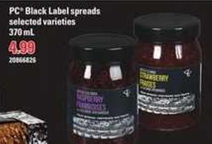 PC Black Label Spreads - 370 mL