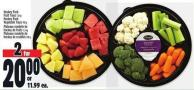 Hockey Puck Fruit Trays 1.3 Kg