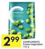 Compliments Frozen Vegetables