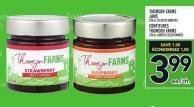 Thomson Farms Jams | Confitures Thomson Farms