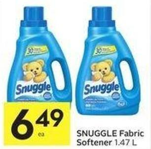 Snuggle Fabric Softener 1.47 L