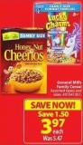 General Mills Family Cereal