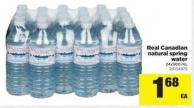 Real Canadian Natural Spring Water - 24x500 mL