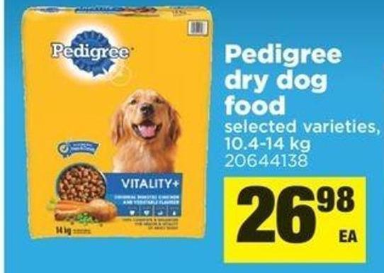 Pedigree Dry Dog Food - 10.4-14 Kg