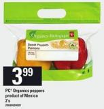 PC Organics Peppers - 2's