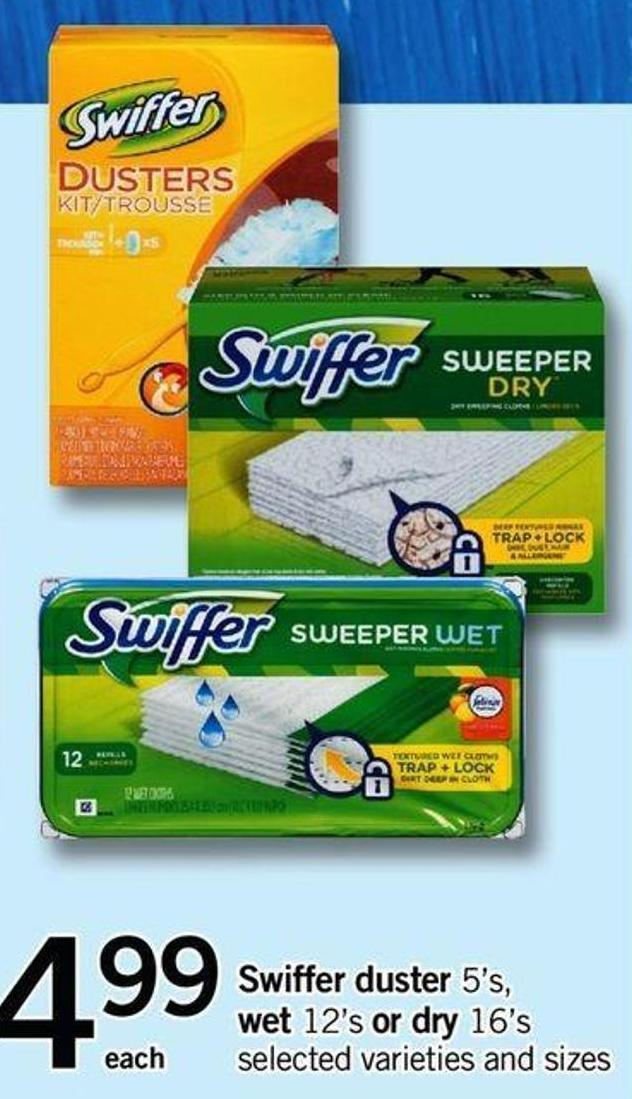 Swiffer Duster 5's - Wet 12's Or Dry 16's