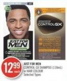 Just For Men Control Gx Shampoo (118ml) or Hair Colour