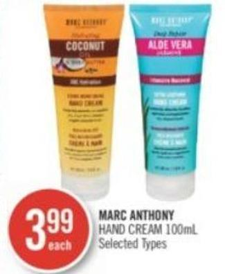 Marc Anthony Hand Cream 100 ml