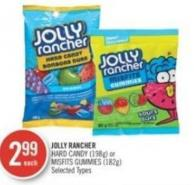 Jolly Rancher Hard Candy (198g) or Misfits Gummies (182g)