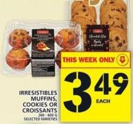Irresistibles Muffins - Cookies Or Croissants