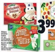Pillsbury Christmas Cookies 240 - 468 g