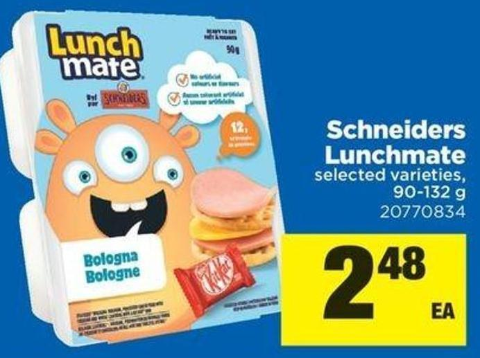 Schneiders Lunchmate - 90-132 G