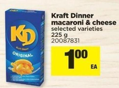 Kraft Dinner Macaroni & Cheese.225 G