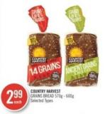 Country Harvest Grains Bread 600 g