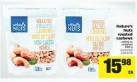 Nature's Nuts Roasted Cashews - 680 g