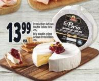 Irresistibles Artisan Double CrŠme Brie 450 g
