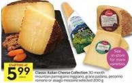 Classic Italian Cheese Collection