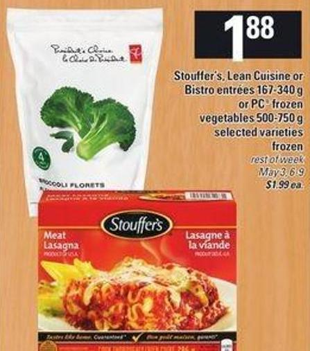 Stouffer 39 s lean cuisine or bistro on sale for Cuisine 750 video