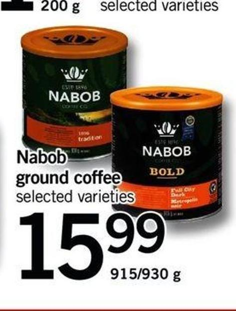 Nabob Ground Coffee - 915/930 g