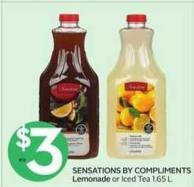 Sensations By Compliments Lemonade