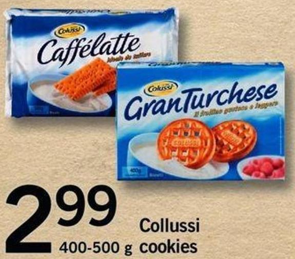 Collussi Cookies - 400-500 G