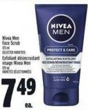 Nivea Men Face Scrub 125 ml