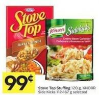 Stove Top Stuffing 120 g - Knorr Side Kicks 112-167 g Selected
