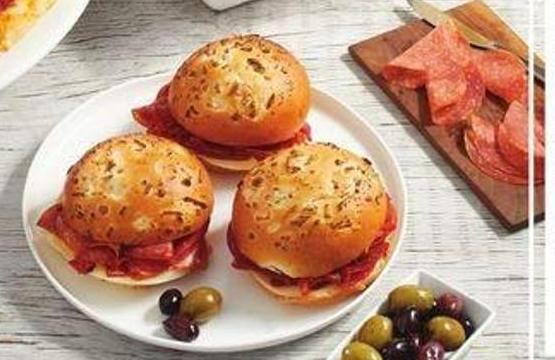 Ultimate Salami And Onion Bun Sandwich