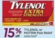 Tylenol or Motrin Pain Relief - Get 50 Air Miles Bonus Miles