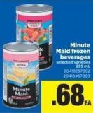 Minute Maid Frozen Beverages - 295 mL