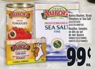 Aurora Boullion - Diced Tomatoes Or Sea Salt