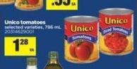 Unico Tomatoes - 786 mL
