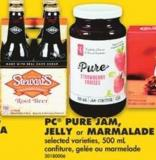 PC Pure Jam - Jelly Or Marmalade - 500 mL