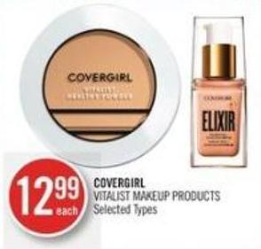 Covergirl Vitalist Makeup Products