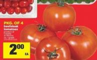 Beefsteak Tomatoes - Pkg Of 4