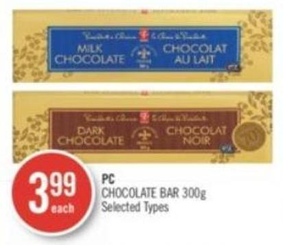 PC Chocolate Bar 300 g
