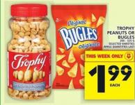 Trophy Peanuts Or Bugles