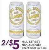 Hill Street Non-alcoholic Craft Beer