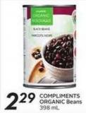 Compliments Organic Beans