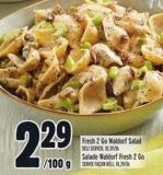 Fresh 2 Go Waldorf Salad