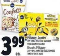 Pillsbury Cookies 312 - 454 g -