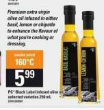 PC Black Label Infused Olive Oil - 250 mL
